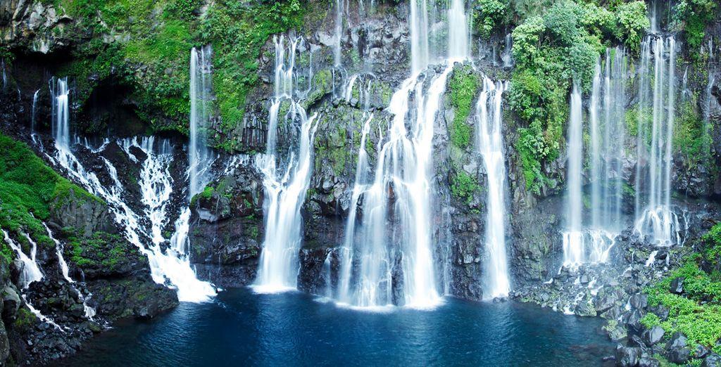 Les fameuses cascades de la Réunion