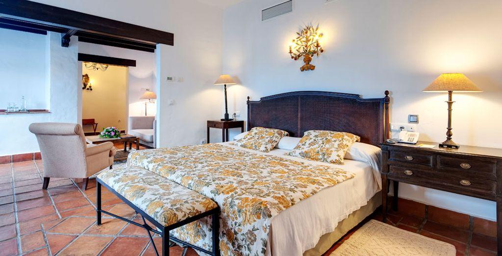 A moins que vous n'optiez pour la chambre Supérieure Deluxe avec Terrasse ou Balcon