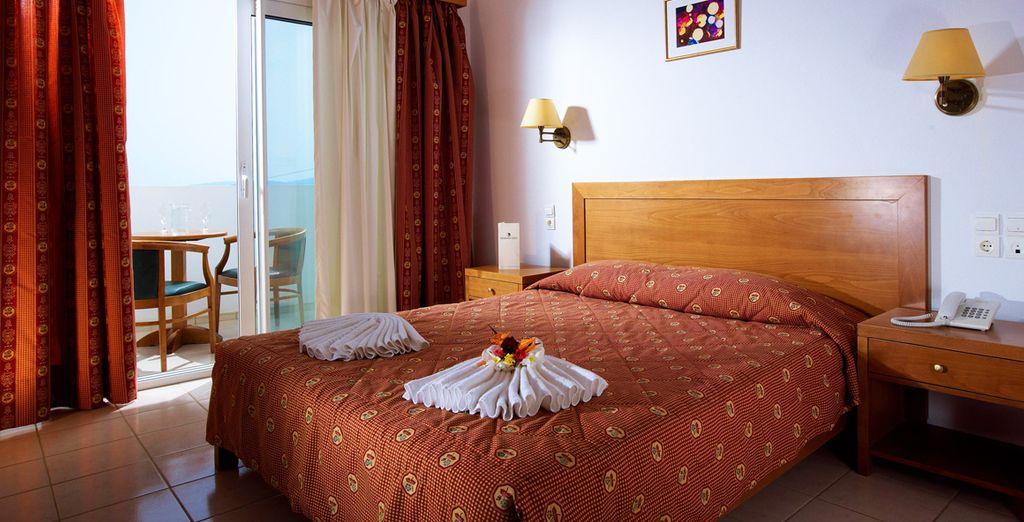 Profitez du confort de votre chambre Sea View
