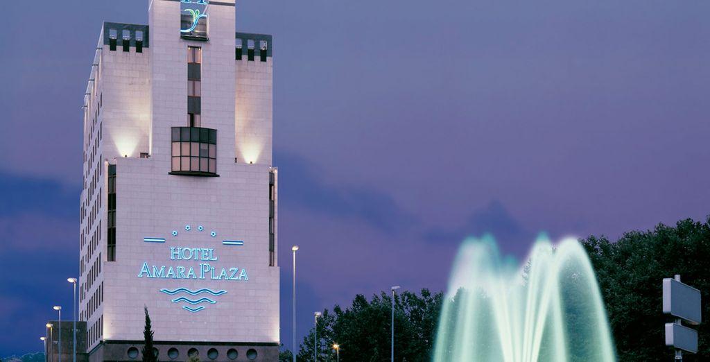 L'Hôtel Silken Amara Plaza 4* conçu par le célèbre architecte Peña Ganchegui vous offre ses portes - Hôtel Silken Amara Plaza 4* San Sebastian