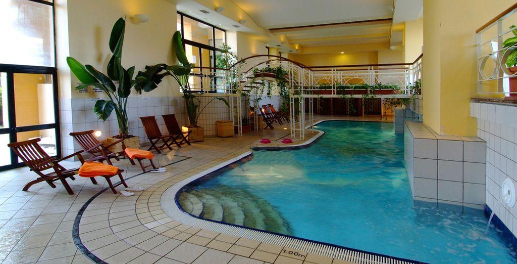Hôtel de luxe avec piscine intérieur et espace détente à La Valette, Malte