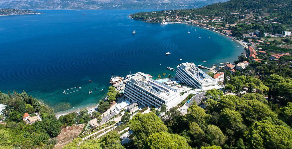 Direction l'hôtel Lafodia Sea Resort 4*