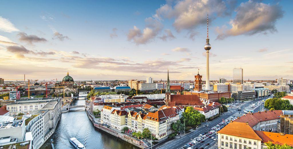 Photographie de la ville de Berlin en Allemagne