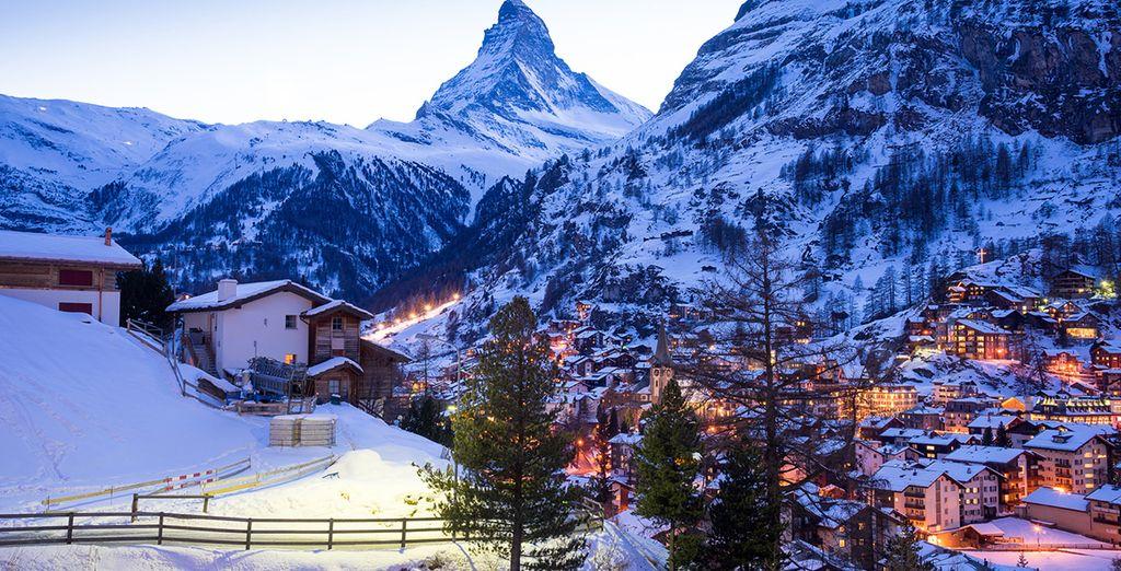 Découvrez la Suisse sous la neige à Zermatt