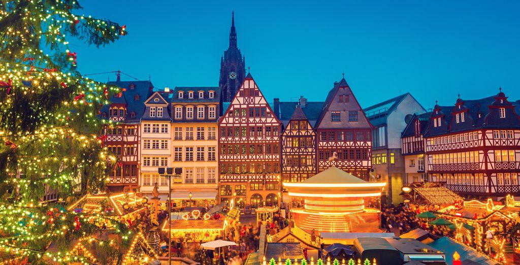 Envie d'une échappée citadine pour découvrir les marchés de Noël à Francfort?