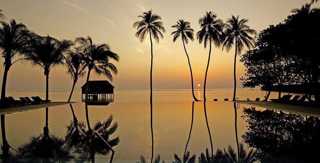 Avant de terminer en beauté par la contemplation du coucher de soleil...