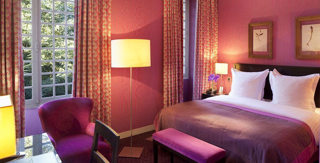 Séjournez dans le confort d'une chambre Luxe