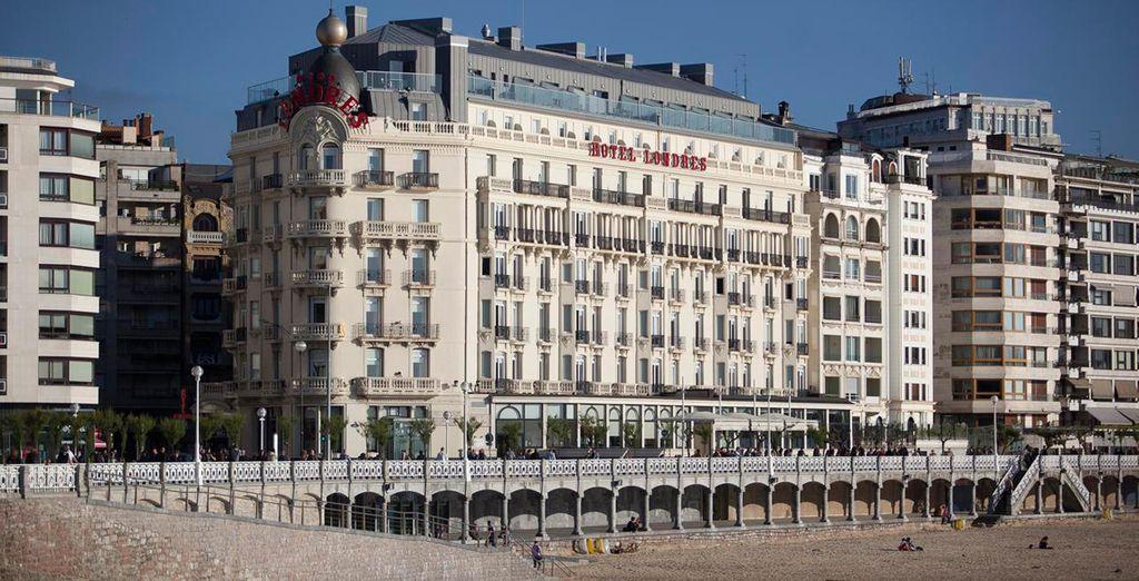Vous profiterez de la situation en front de mer - Hotel Londres y de Inglaterra 4* San Sebastian