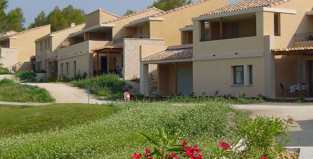 Sous le soleil de la Provence, une résidence de standing vous accueille...