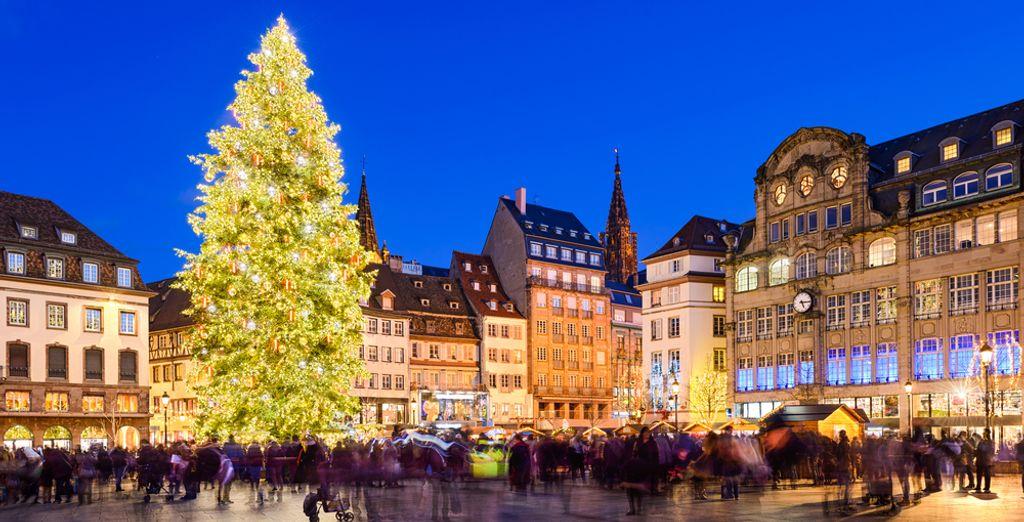 Que diriez-vous d'une escapade en Alsace ?