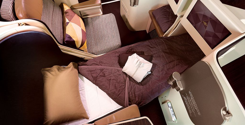 Vous vivrez pleinement l'expérience du luxe à bord