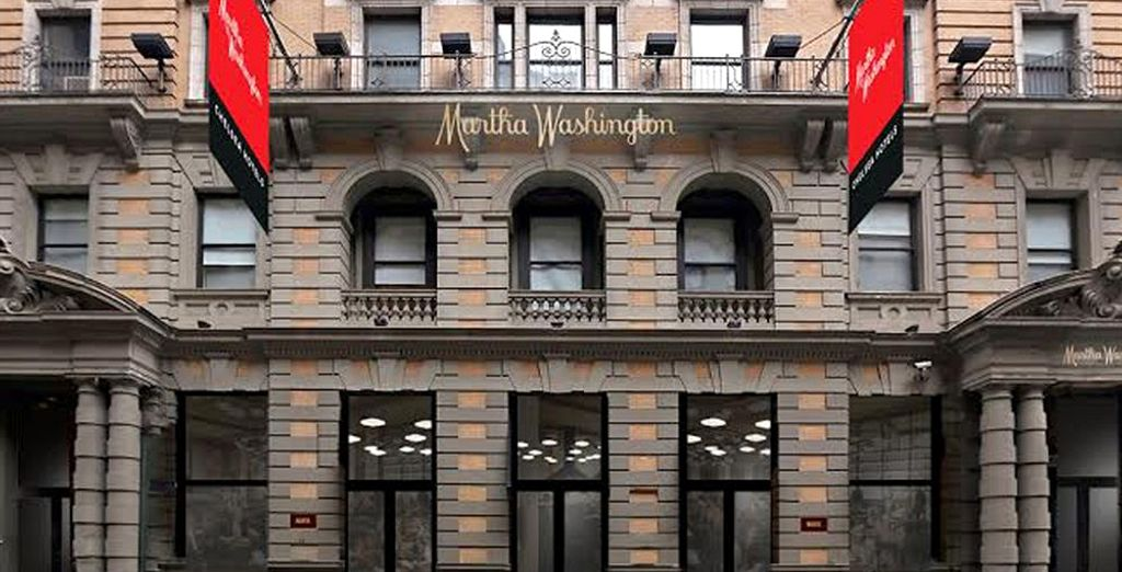 Et installez-vous au Martha Washington 4*