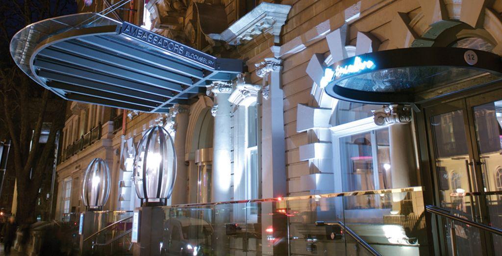 Nous vous invitons à l'Ambassador's Bloomsbury... - Hôtel Ambassador's Bloomsbury 4* Londres