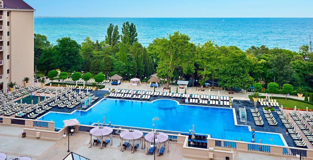 Ou sur la magnifique côte de la mer Noire