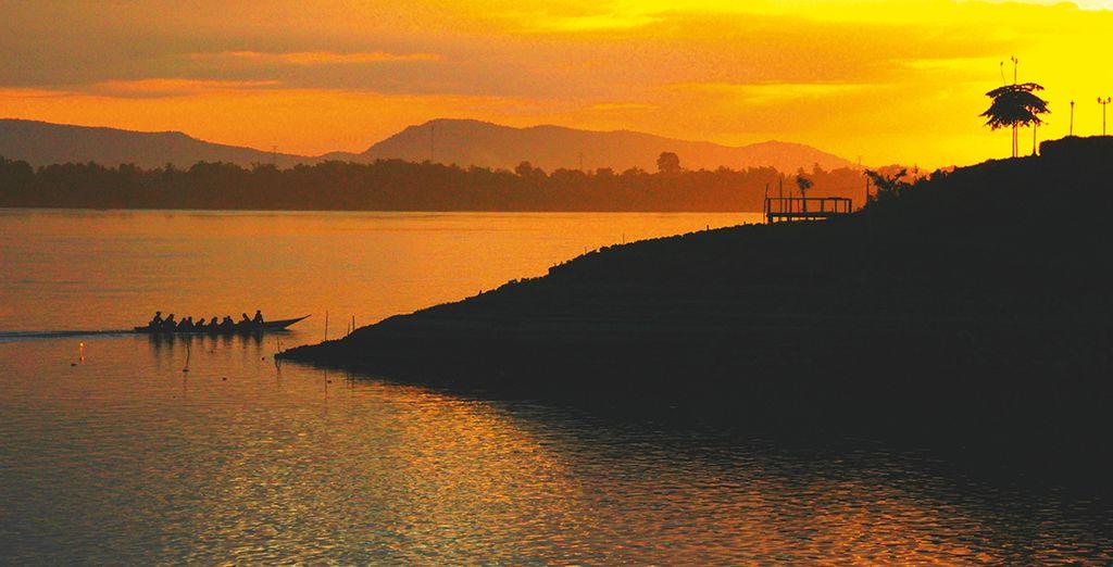 Emerveillez-vous devant les splendides couchers de soleil