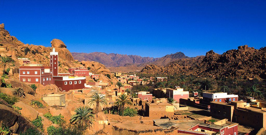 Qui vous mènera sur les routes des villages du Moyen Atlas