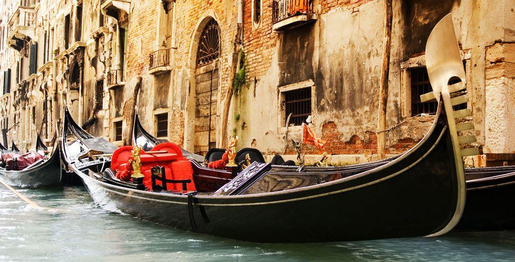 Direction Venise pour une escapade romantique