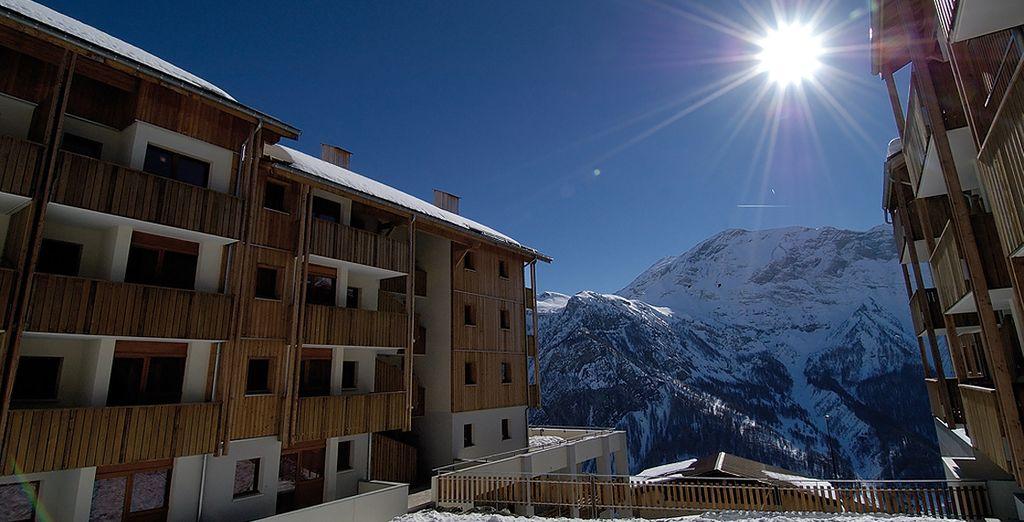 Bienvenue dans votre résidence à Orcières, dans les Hautes-Alpes - Résidence Pra Palier Orcières