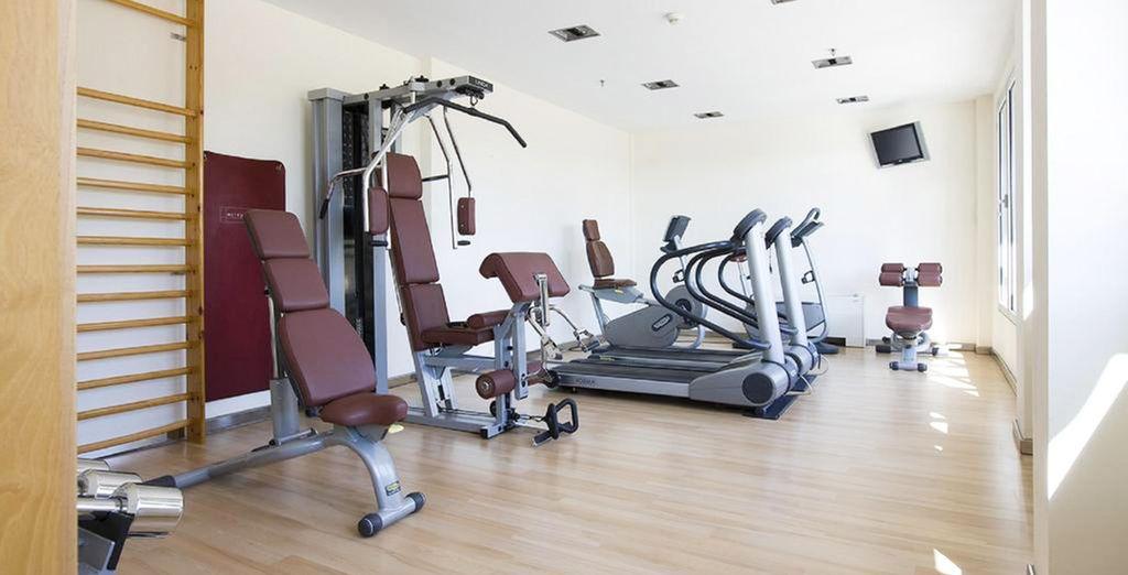 Maintenez-vous en forme dans la salle de gym de l'établissement