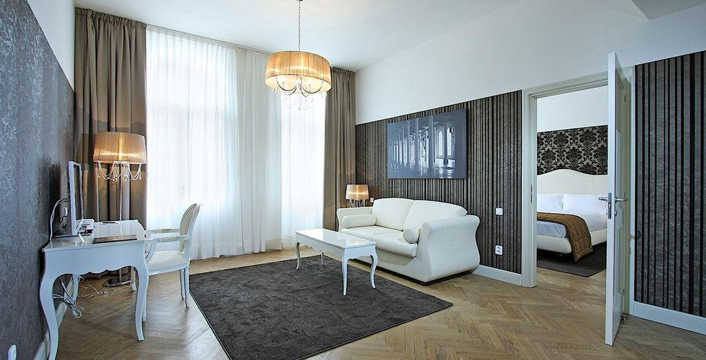 Où vous serez logé dans une luxueuse City Suite