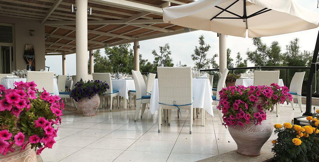 Boire un verre en terrasse...