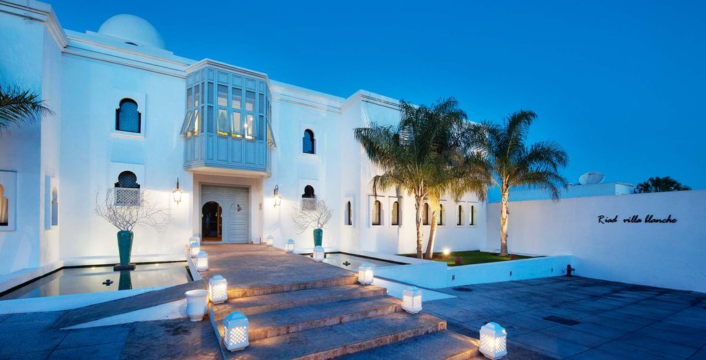 Le magnifique Riad Villa Blanche