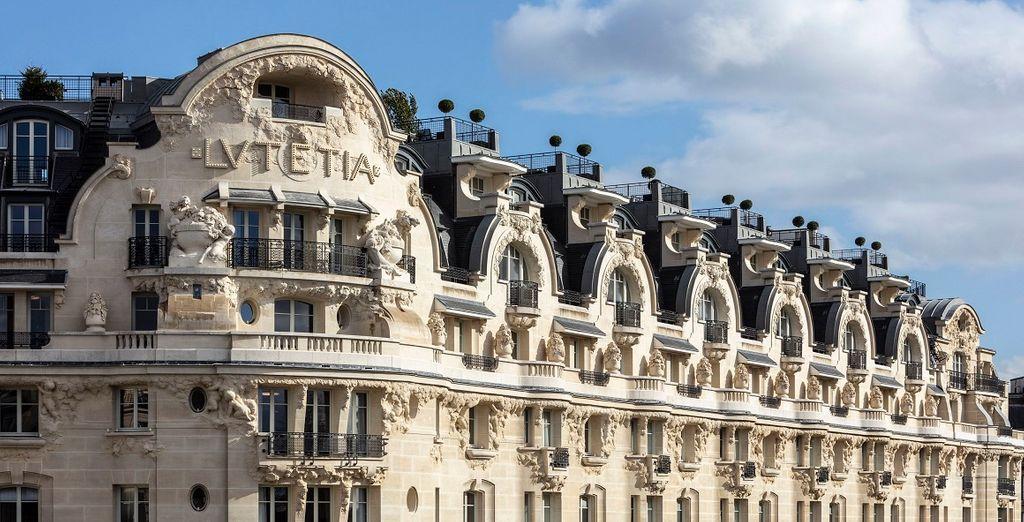 Dîner 3 plats servi en chambre à l'Hôtel Lutetia Paris Palace 5*