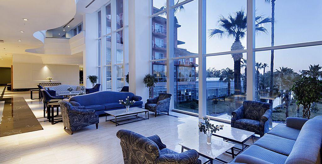Poussez les portes de votre magnifique hôtel 5* Ic Santai Family Resort
