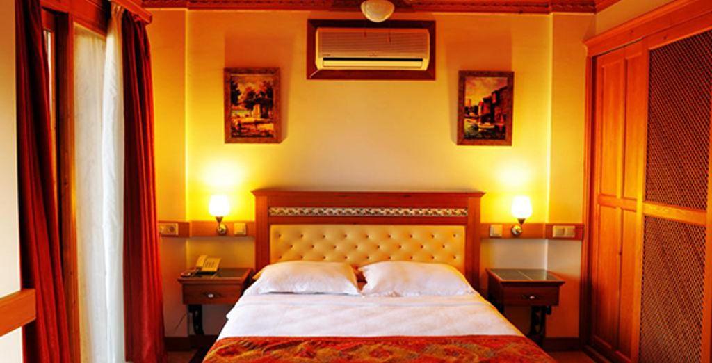Appréciez le confort de votre chambre Standard