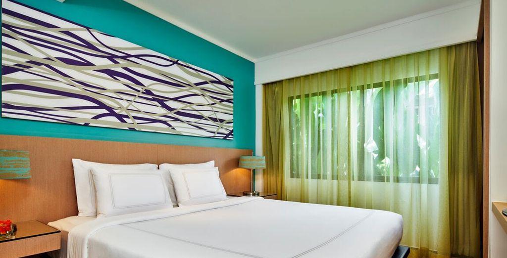 Ou votre Two Bedroom Deluxe Suite pouvant accueillir toute votre tribu