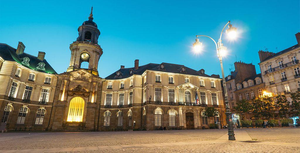 Bon séjour à Rennes...!