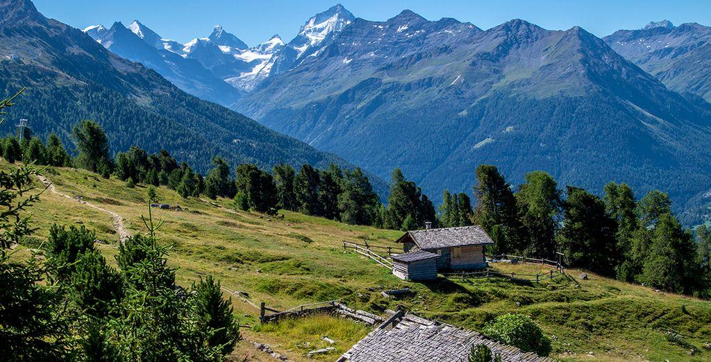 Photographie des Alpes de la Suisse