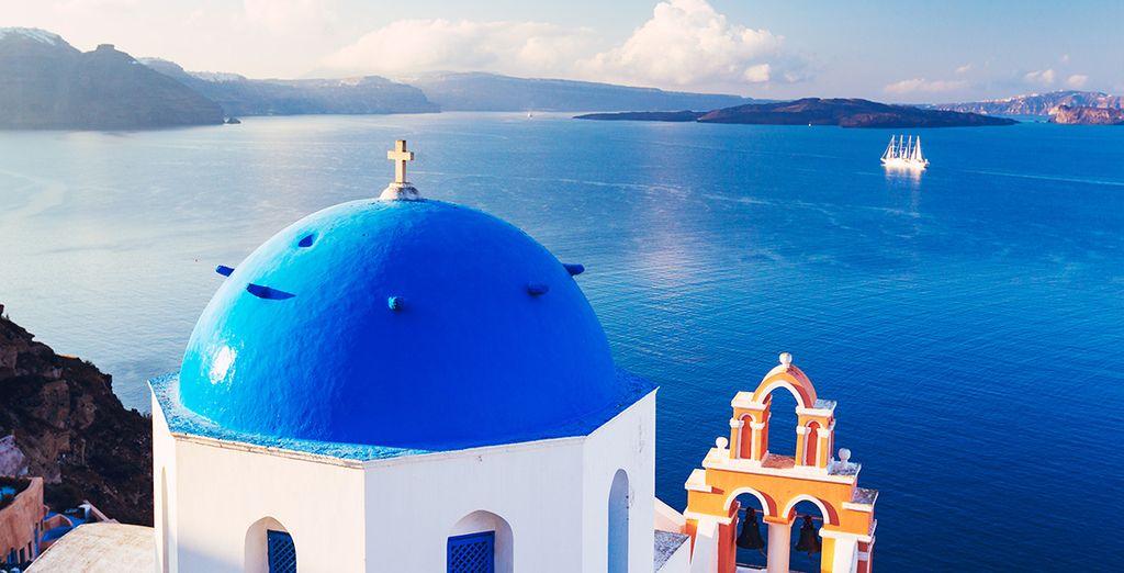 Soyez les premiers à réserver vos vacances à Santorin pour 2015