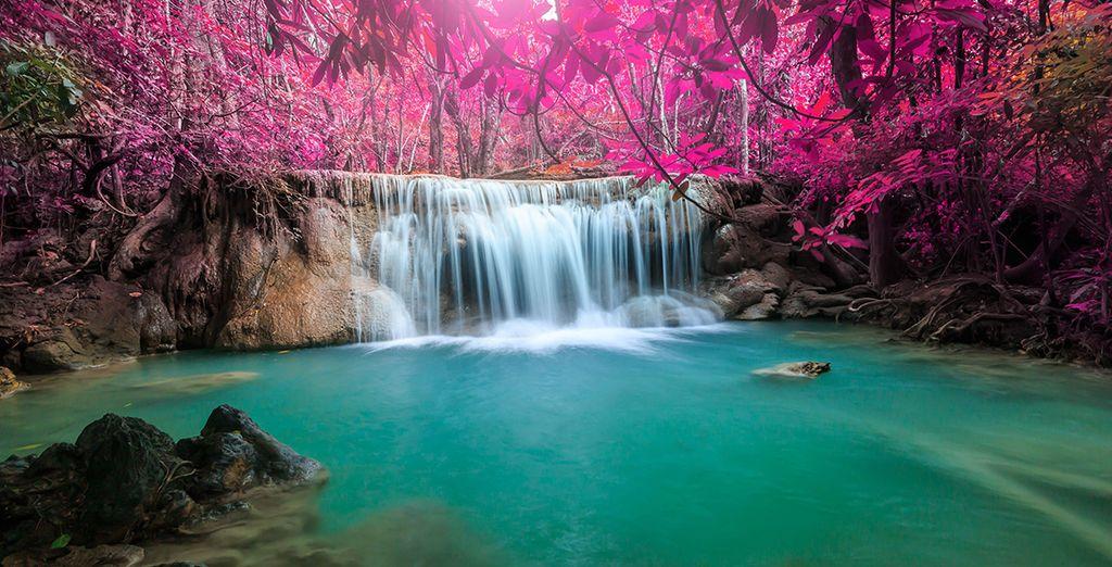 Photographie de Kanchanaburi et son parc national Erawan