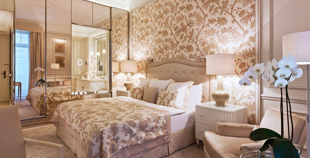 Ou offrez-vous la chambre Deluxe, plus spacieuse
