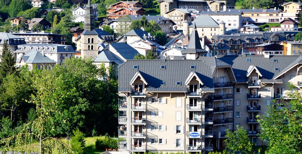 Situé dans le ravissant village de Saint Gervais les Bains