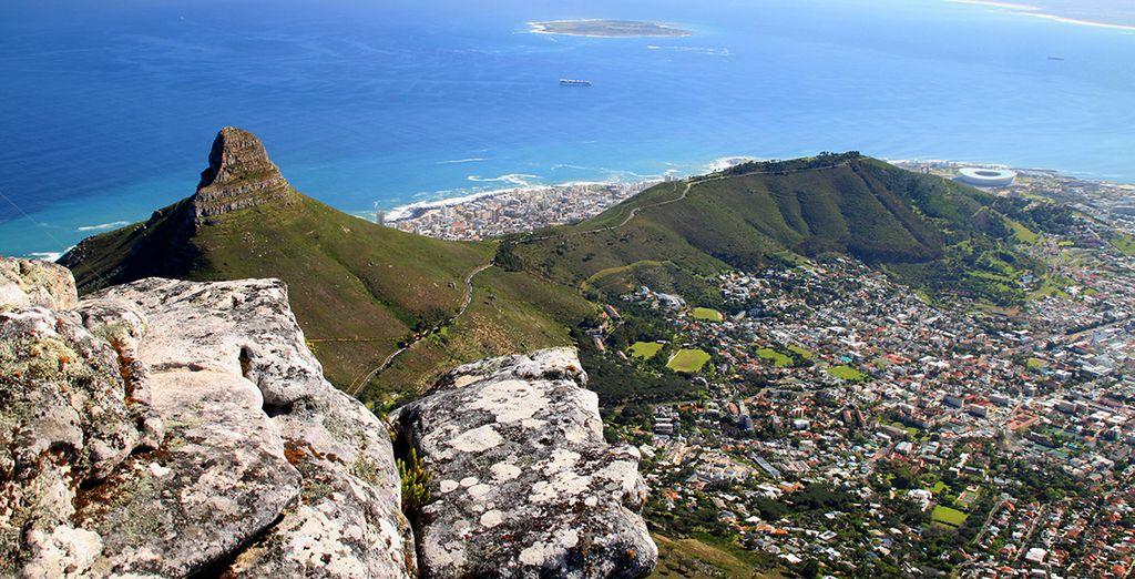Bienvenue en Afrique du Sud, plus précisément dans la magnifique ville du Cap... - Romney Park All Suite Hôtel & Spa 5* et possibilité d'extension à la réserve d'Aquila ou aux Chutes Victoria Cape Town