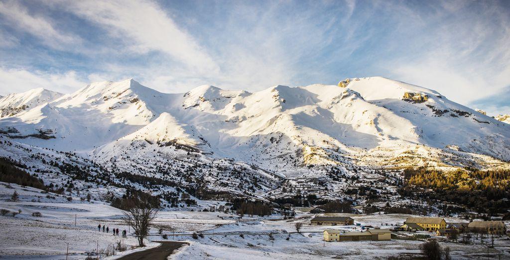 Au coeur du domaine le plus étendu des Alpes du Sud