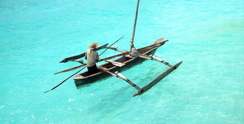 La deuxième partie de votre voyage s'amorcera avec votre arrivée sur Unguja, plus grand île de l'archipel de Zanzibar