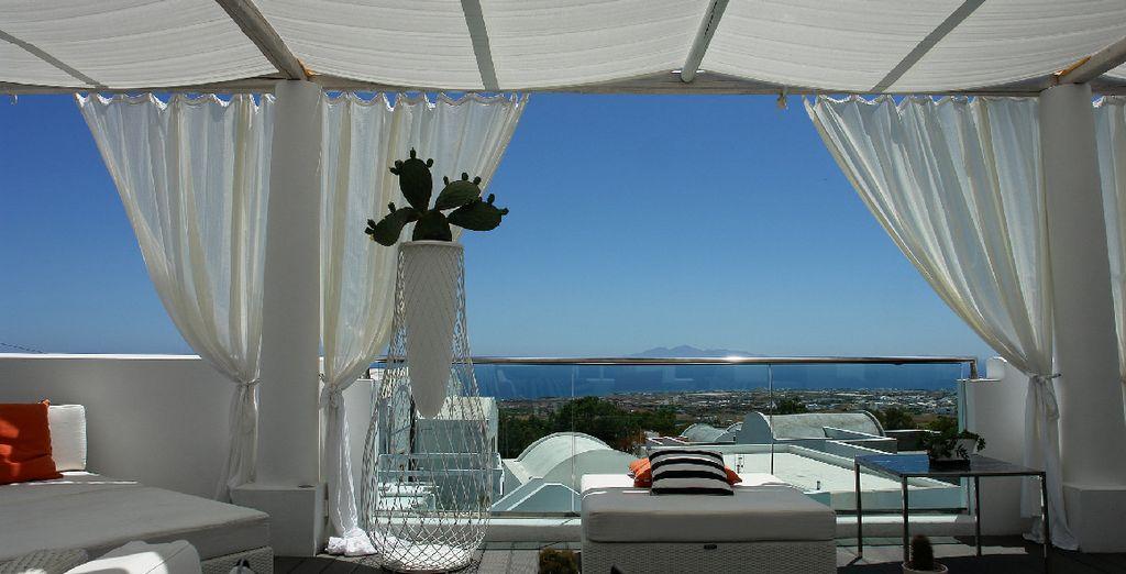 Face à la mer Egée...