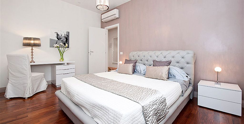 Appartement 3 : La chambre