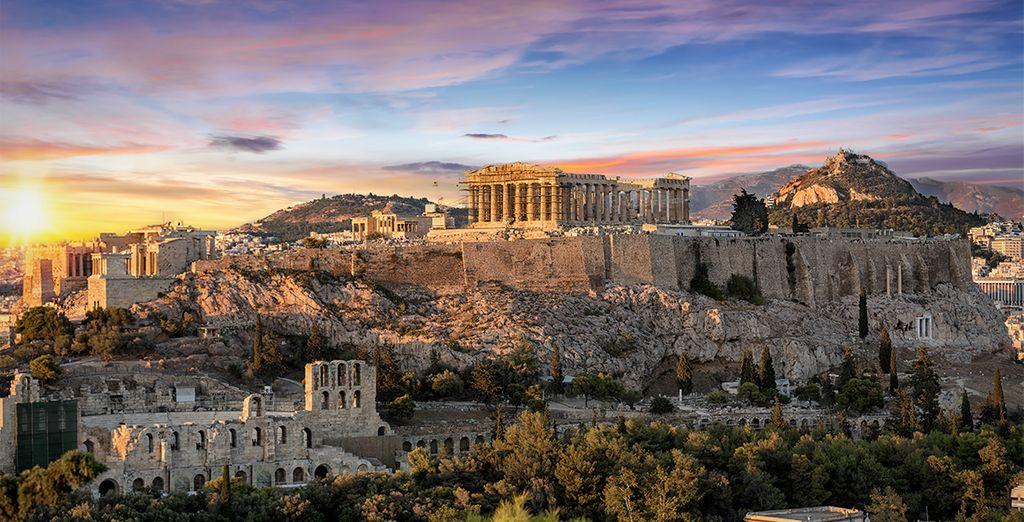 Partez découvrir la Grèce et Athènes