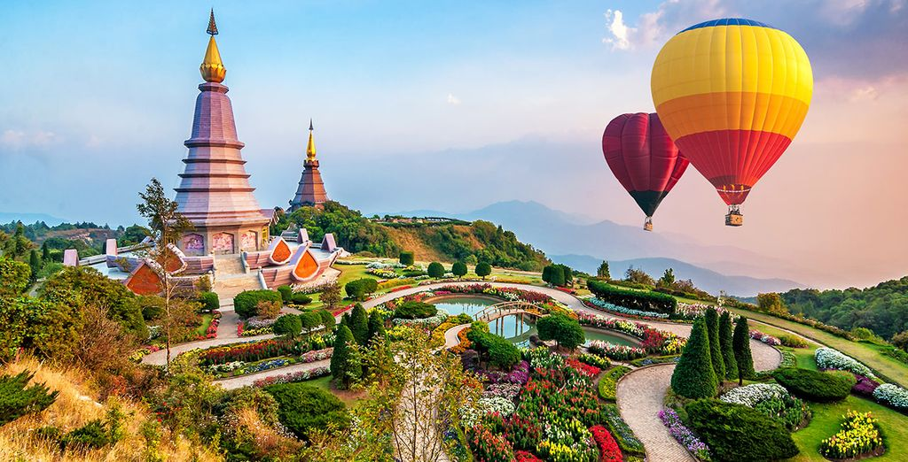 Circuit en liberté au Nord de la Thaïlande avec extension à Phuket