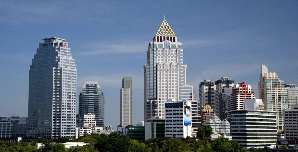 Votre séjour débutera à Bangkok
