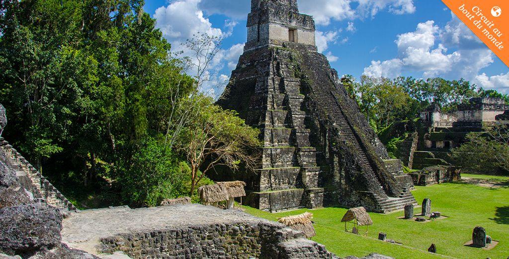 Au pays des Mayas...