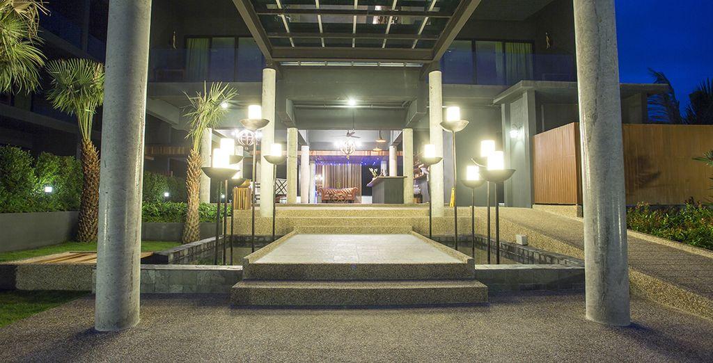 Cet hôtel au cadre épuré et design saura vous séduire