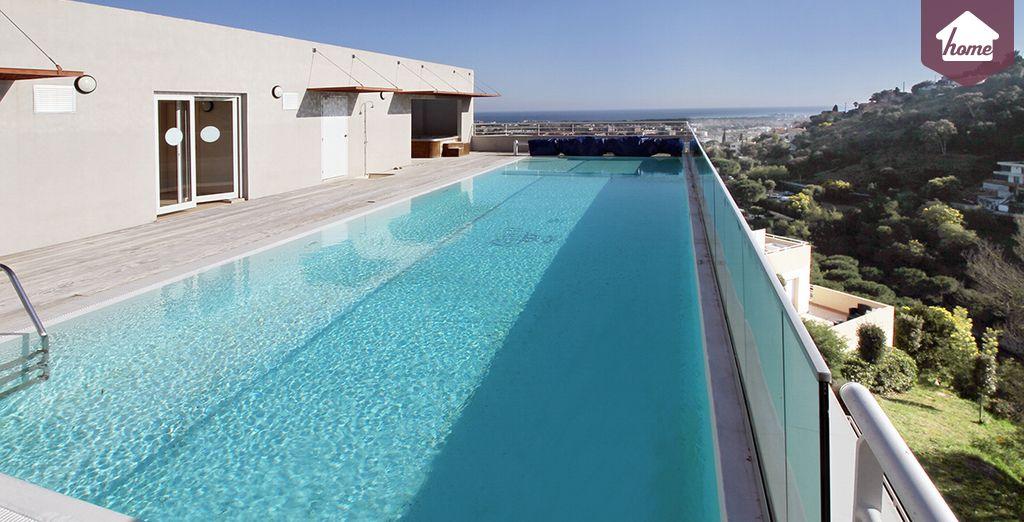La piscine commune pour plonger au coeur de la Côte d'Azur