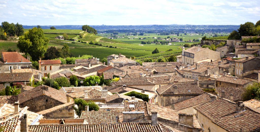 Le village et le vignoble de Saint-Emilion