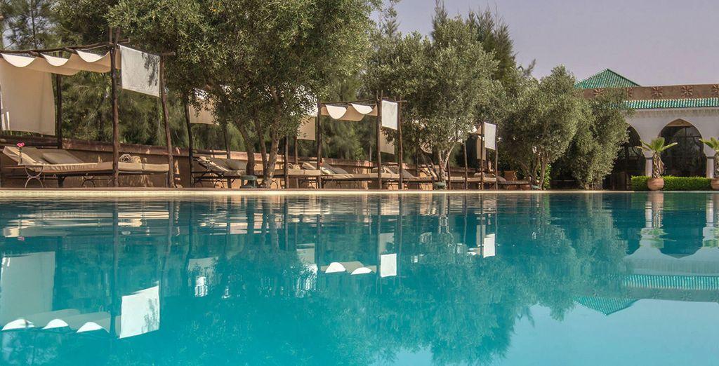 ...habitent votre maison d'hôtes aux portes de Marrakech