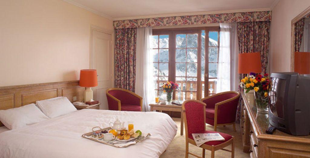La chambre - Hotel La Diva  Isola 2000